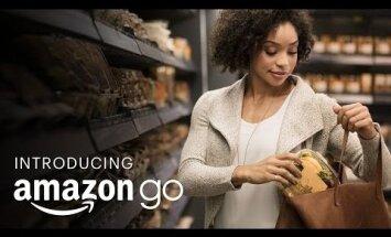 ВИДЕО: Компания Amazon открыла продуктовый магазин без касс