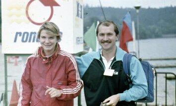 Eesti triatlonispordi kunagine tipp Leela Lint (vasakul)