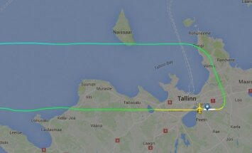 Самолету Nordica пришлось вернуться обратно в Таллинн из-за технической неполадки