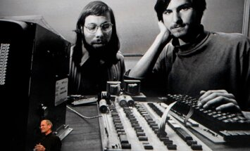 Steve Wozniak ja Steve Jobs 70ndail