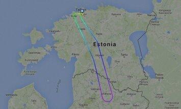 Turkish Airlinesi lennuk pöördus teel Istanbuli tagasi