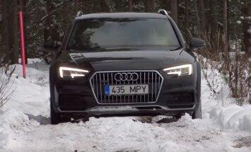 Motorsi proovisõit: Audi A4 allroad - teeme hoopis vastupidi