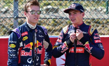 Vettelile otsa sõitnud Kvjat asendatakse Red Bullis Verstappeniga