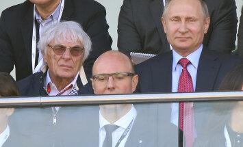 Ecclestone susserdas Venemaa tolliga, et Hamilton saaks vajaliku varuosa
