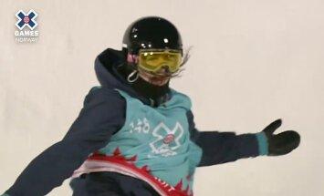 Mathilde Gremaud' võiduhüpe Norra X-Mängudel.