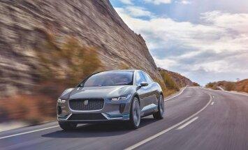 Jaguar esitles elektrimaasturi kontsepti I-Pace