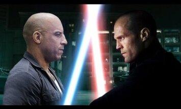 VIDEO: Kui Star Warsi peakangelased oleksid Jason Statham ja Vin Diesel, siis näeks film välja täpselt selline
