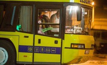 Ecolines'i bussijuhid Tartus
