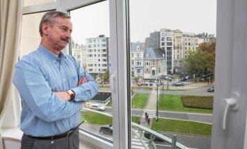 Siim Kallas Brüsseli kodus