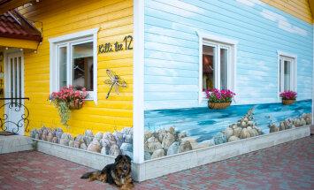 Kes ütleb, et maja ei või ilus ja värviline olla?