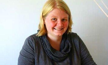 Vabatahtlik Annika Stienecker Saksamaalt tahab tuua igasse päeva killukese head