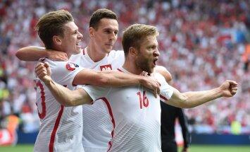 OTSEBLOGI: Jalgpalli EM-i 1/8-finaal: Poola läks Šveitsi vastu 39. minutil juhtima!