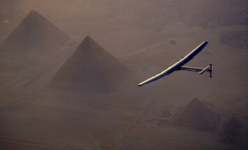 """Отложен последний этап """"кругосветки"""" самолета на солнечных батареях"""