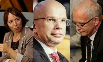 TÕEHETK FOTODEL: Kes on morn, kes rõõmus, kes keskendunud: hetk, kui presidendikandidaadid said teada tänase valimistulemuse