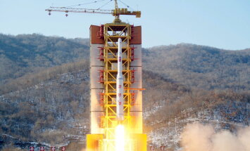 USA tuvastas pärast Põhja-Korea raketikatsetust Maa orbiidilt kaks uut objekti