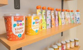 Отечественное детское питание в тюбиках становится в Эстонии все более популярным