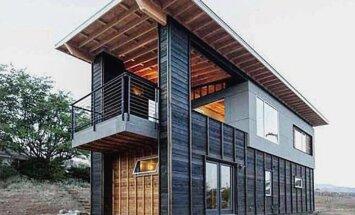 Unusta väikesed majad. Need merekonteineritest ehitatud hooned on tõeliselt muljetavaldavad!