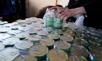 Toidupank jagas tasuta konserve