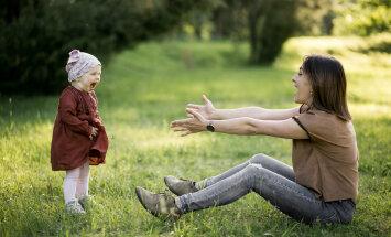 Kui väike laps eelistab pigem isaga olemist, tunnevad emad end tihti halvasti