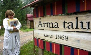Kodused hetked Ärma talus. Nii lähedale kui neil 2006. aastal tehtud piltidel, pole Ilvesed avalikkust enam lubanud.