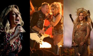 """Беременная Бейонсе, Metallica и Леди Гага с обнаженной грудью. Смотри, как прошла церемония награждения """"Грэмми"""""""