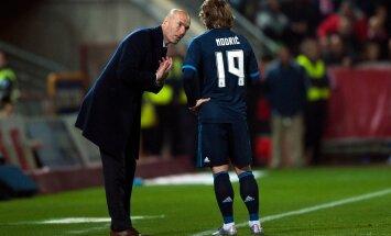 Zinedine Zidane, Luka Modric