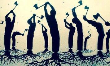 Lugeja kiri: Kui puud välja juurida, siis oleme juurteta