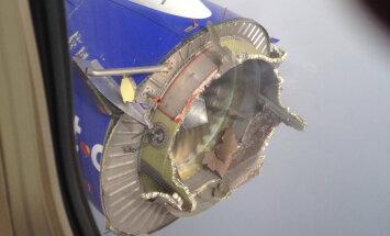 FOTOD: Ameerika reisilennuk kaotas Mehhiko lahe kohal mootori ja pidi hädamaanduma