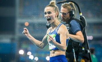 Meeletu keskendumine ja tahtejõud. Ksenija Balta hooaja tippmark 6.79 tõi talle kaugushüppes kuuenda koha.