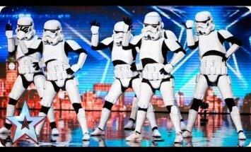 USKUMATU VIDEO: Britain's Got Talent talendisaates astusid popmuusika saatel lavale