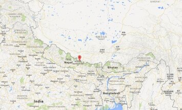 Langtangi piirkond Nepalis
