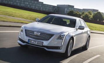 Cadillac toob Euroopa turule luksusedaani CT6 ja linnamaasturi XT5