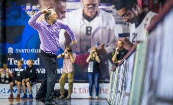 Lõpuks ometi! Tartu Rock suutis Gert Kullamäe juhendamisel Kalev/Cramo ebakindla tegutsemise rünnakul enda kasuks pöörata ja konkurent pidi vastu võtma hooaja esimese kaotuse kodukamaral.