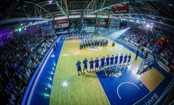 Tartu Ülikool Rock v BC Kalev Cramo, Eesti korvpalli meistriliiga finaalseeria 4. mäng Tartu Ülikooli spordihoones.