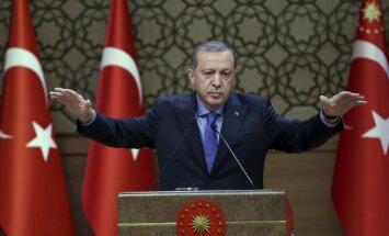 Türgi president Recep Tayyip Erdoğan unistab, et tema riik laiuks pea sada aastat tagasi plaanitud piirides.