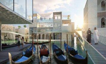 Близ Дубая построят точную копию итальянской Венеции