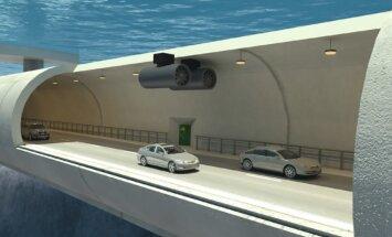 Norra plaanib oma fjordide autoliikluse jaoks ujuvaid veealuseid tunneleid