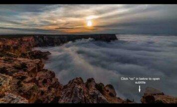Невероятные кадры: океан тумана заполнил Большой каньон