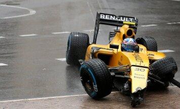 OTSE: Vormel-1 Monaco GP: boksiteelt alustanud Verstappeni hull sõit lõppes katkestamisega