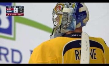 VIDEO: Soome väravavaht oli NHL-is lähedal kavalale tabamusele
