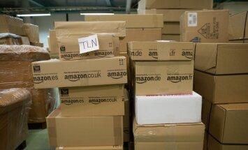 Amazoni pakid Eesti Postis