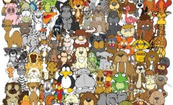 Kui kiiresti suudad sa leida pildile ära peidetud 6 looma?