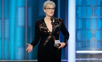 Meryl Streep pidamaskõnet 74. Kuldgloobuste galal.