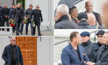 ФОТО DELFI: Лидеры криминального мира и бизнесмены — кто есть кто на похоронах Николая Таранкова?
