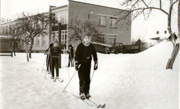 Lapsena õues: kõige hullem oli karupükstelt lume kloppimine