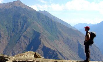 Machu Picchu juurest meelitatakse turistid teise inkade linna juurde õhutrammiga