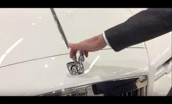 Tänu sellele kavalale insenerilahendusele on Rolls Royce`i kapotil ilutsev kujuke tõeliselt vargakindel