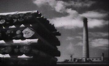 VANAD FILMIKAADRID 1940: Vaata kuidas Kehra sulfaattselluloosi vabrikus valmis papp ja paber!
