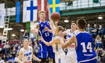 Eesti - Soome U18 koondiste mäng Baltic Sea Cupil