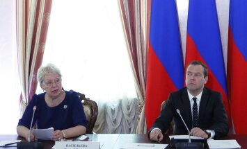 Venemaa uus haridusminister Olga Vassiljeva pidas eelmisel nädalal Peterburis toimunud kõrghariduse teemadele keskendunud foorumil peaminister Dmitri Medvedevi pilgu all ettekande.